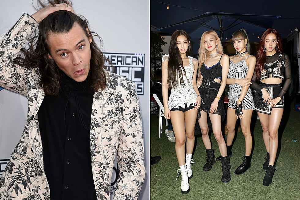 Harry Styles Spotted at Blackpink's Los Angeles Concert