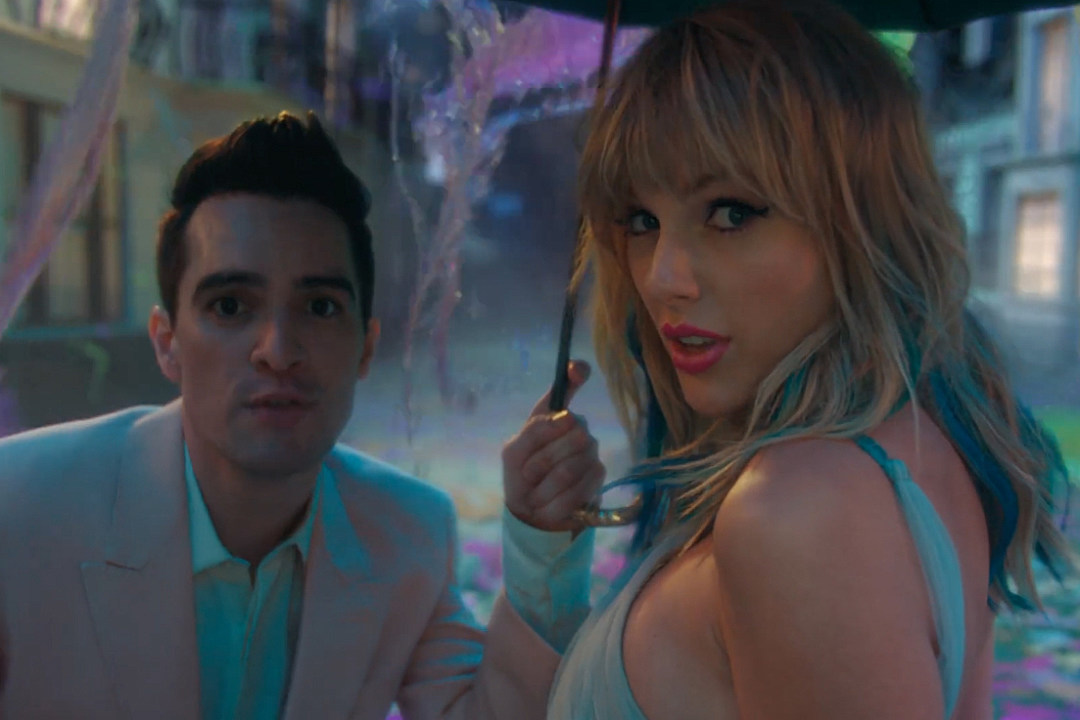 Brendon Urie Had High Fever in Studio With Taylor Swift