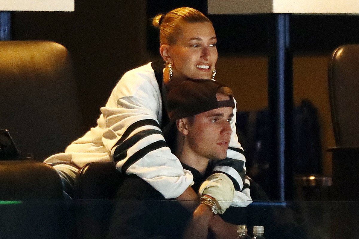 Shirtless Justin Bieber Hits the Studio With Wife Hailey Baldwin