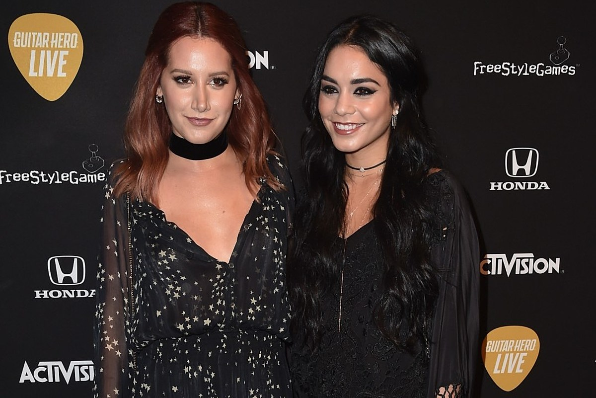 Ashley Tisdale and Vanessa Hudgens Are Gorgeous Bridesmaids