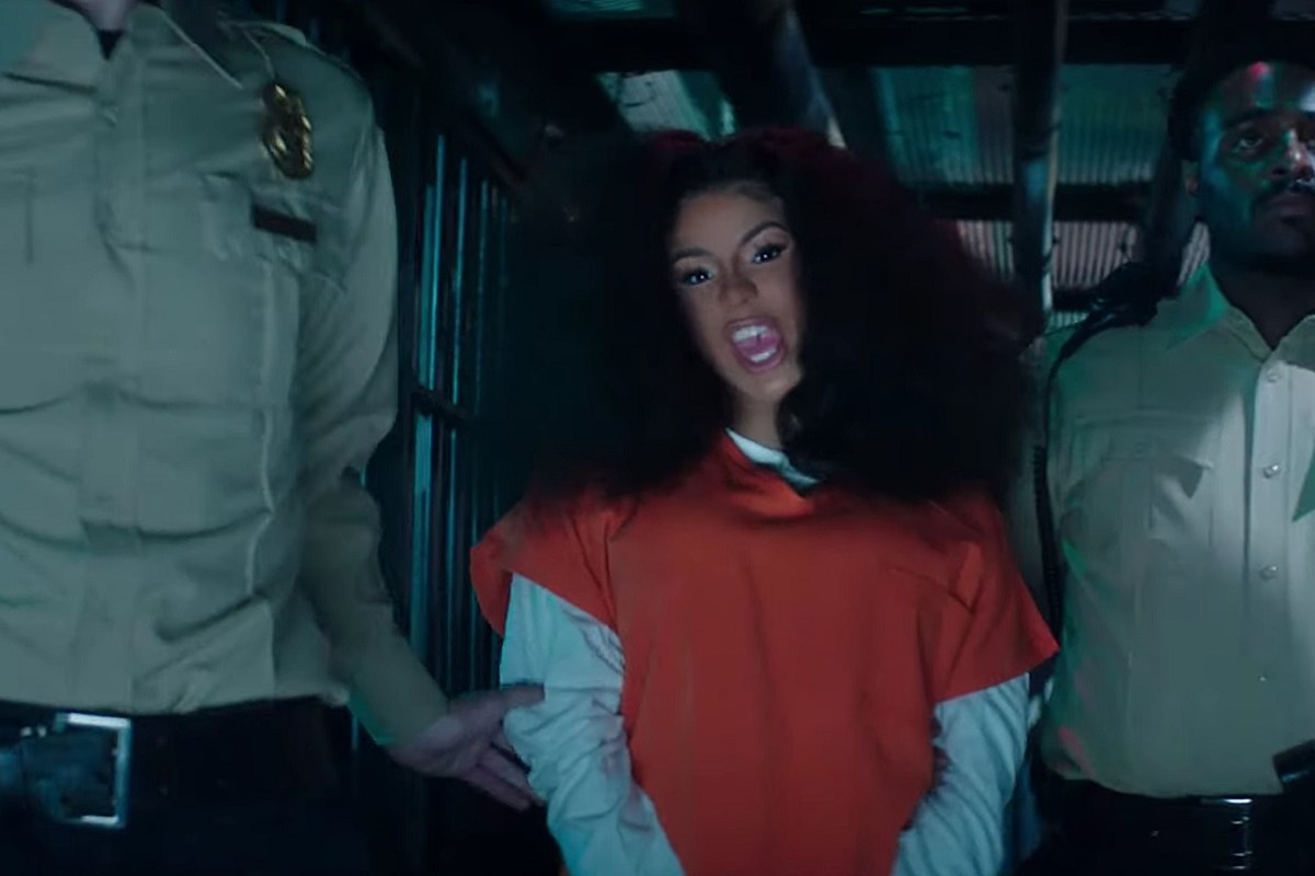 Cardi B Goes Nude In Nsfw Press Music Video