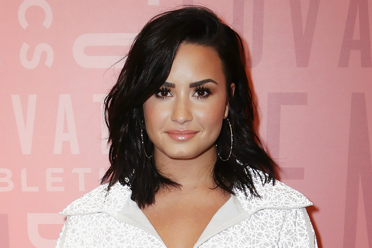468fc745d Demi Lovato's New Finger Tattoo Has the Most Powerful Message