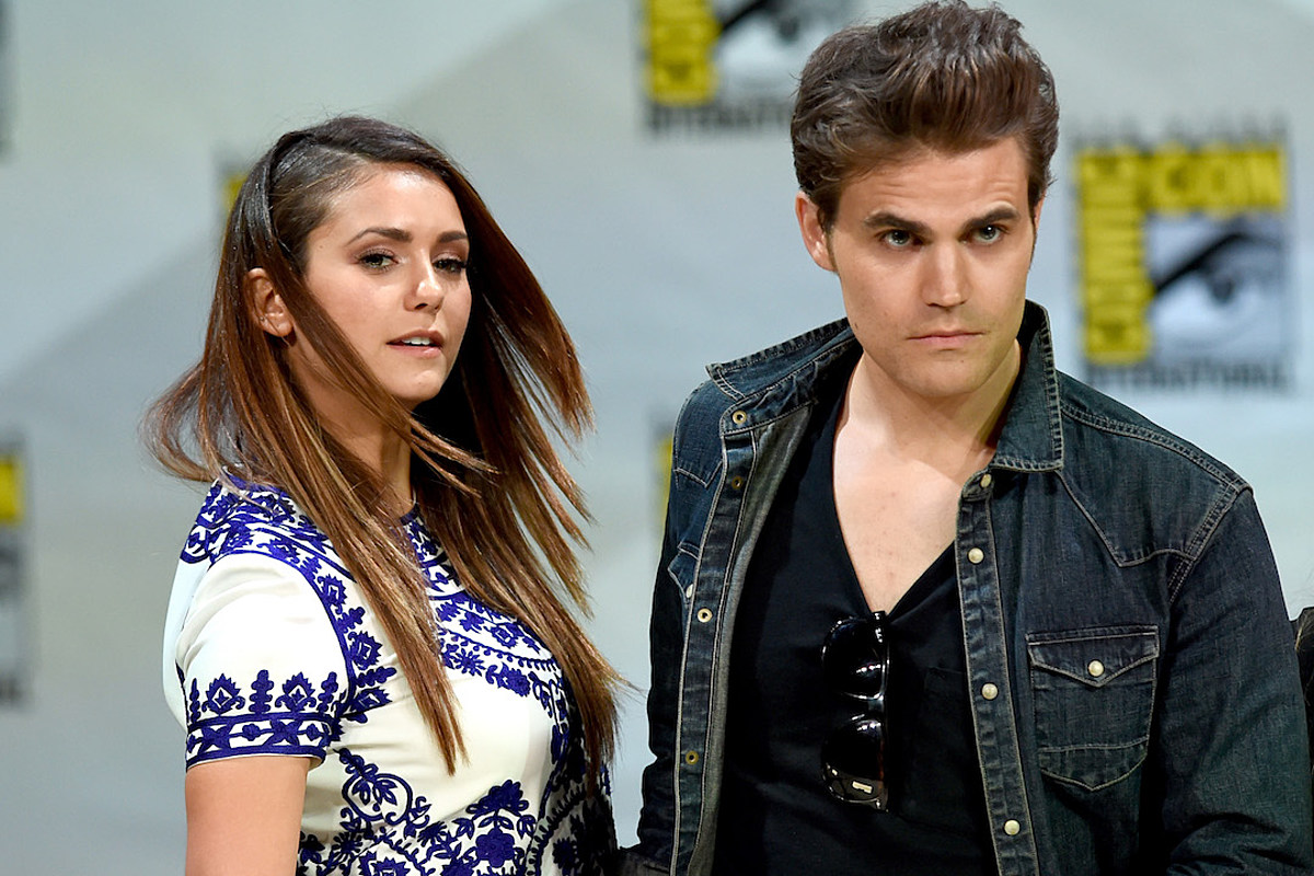 Vampire Diaries Nina Dobrev And Paul Wesley Didn T Get Along