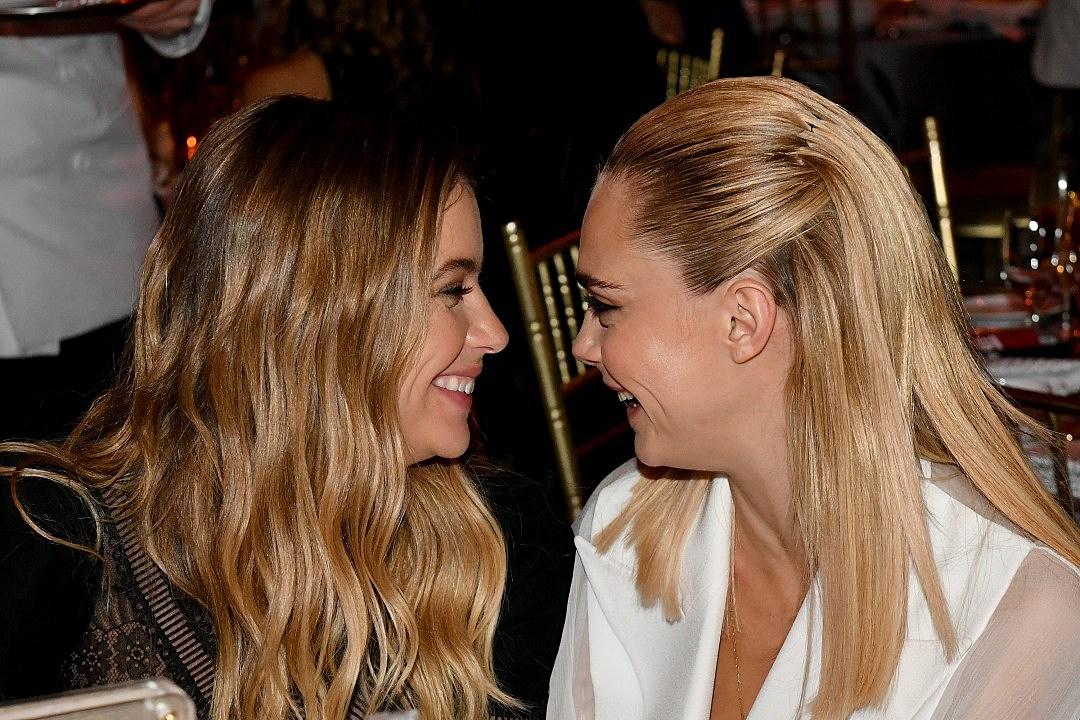 Cara Delevingne + Ashley Benson Slam Homophobic Troll