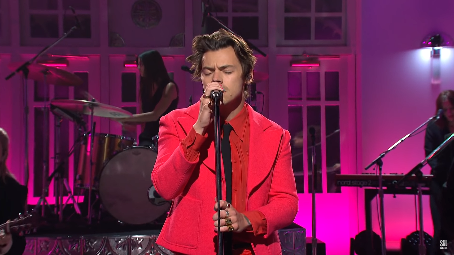 Harry Styles Debuts Watermelon Sugar On Saturday Night Live