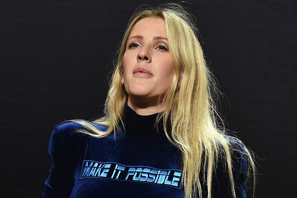 Ellie Goulding Springs Into Action At Scene Of Intense Car
