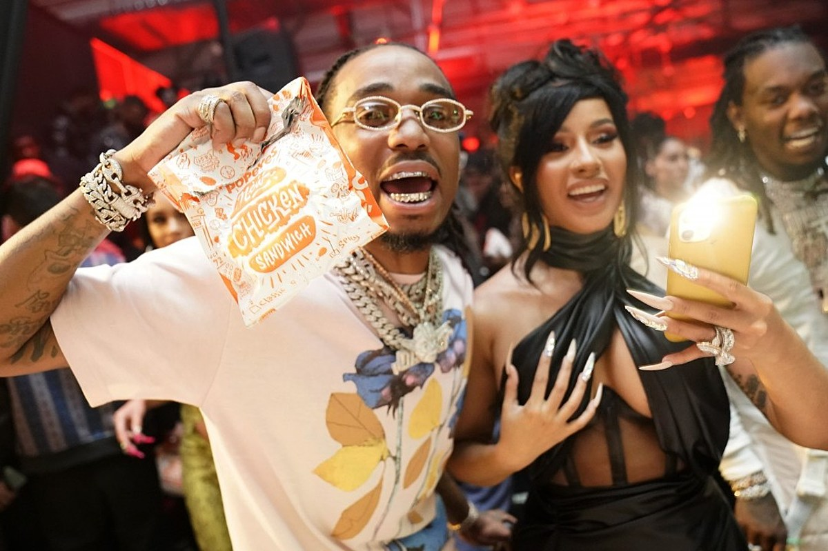 Cardi B Gifts 500k In Cash To Offset For His Birthday