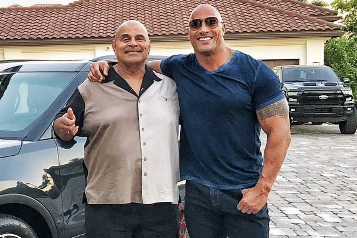 Dwayne 'the rock' Johnson's Father Rocky Johnson Dies at 75