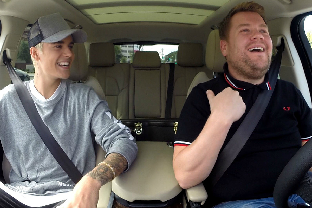 James Corden Doesn't Actually Drive During Carpool Karaoke
