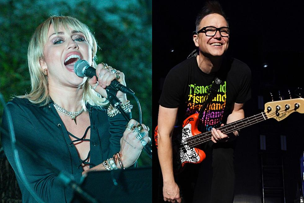 Miley Cyrus and Blink-182 Collaboration Leaks