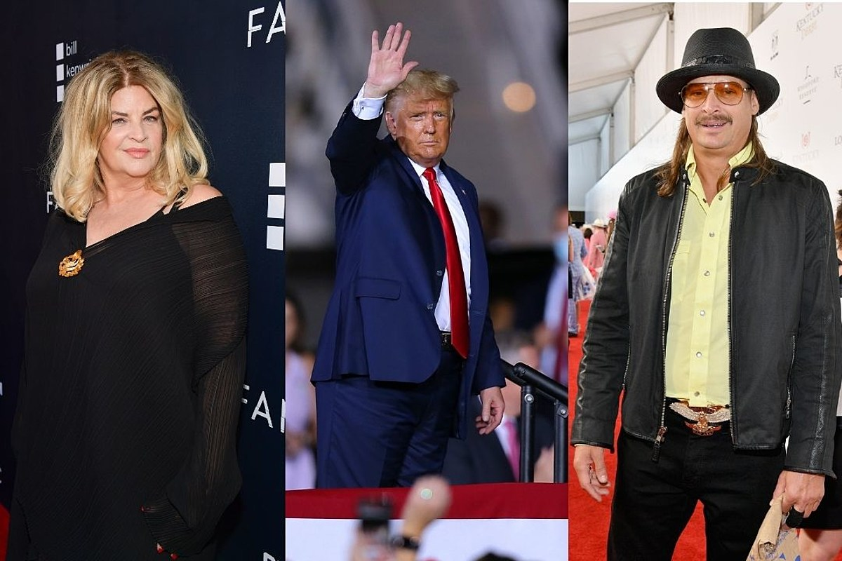 20 Celebrities Who Endorse President Donald Trump for Re-Election