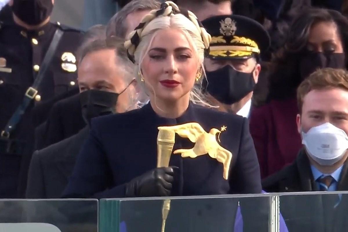 Lady Gaga Sings National Anthem at Biden Inauguration