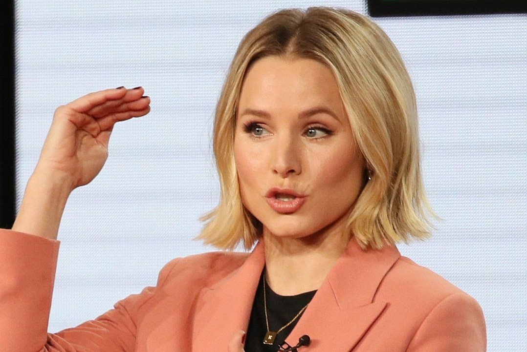 Kristen Bell Bathes Her Kids Only When They Stink