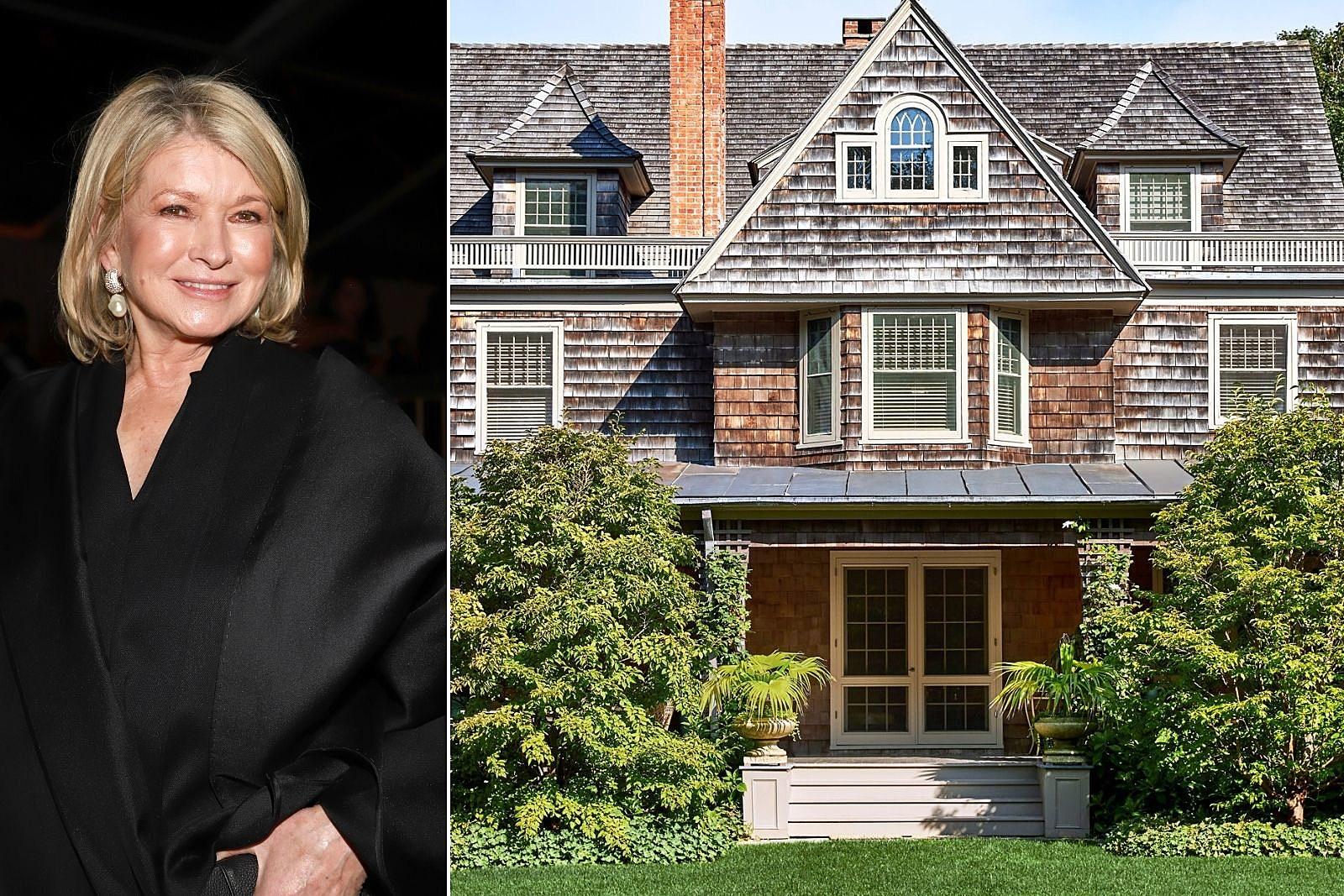 Martha Stewart Sells $16.5 Million East Hampton Home: PICS