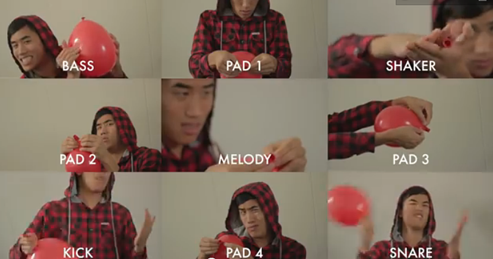 Remember 99 Red Balloons By Nena Guy Recreates Using Only AMAZING VIDEO