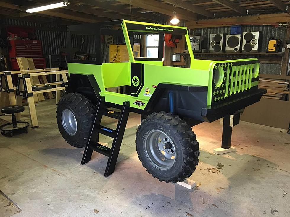 Awesome Kid S Jeep Bed Up For Auction This Weekend