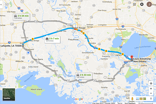 Should I Take Highway 90 Or I-10 To New Orleans? on interstate 27 highway map, interstate 40 map, eastern interstate highway map, hwy 90 map, i-70 highway map, us interstate highway map, interstate 81 highway map, i-35 highway map, interstate 75 highway map, national highway system map, interstate 71 highway map, interstate highway system, interstate 95 highway map, interstate 80 highway map, interstate 55 highway map, i-75 highway map, interstate 70 map, interstate 10 highway map, pa interstate highway map, united states interstate and highway map,
