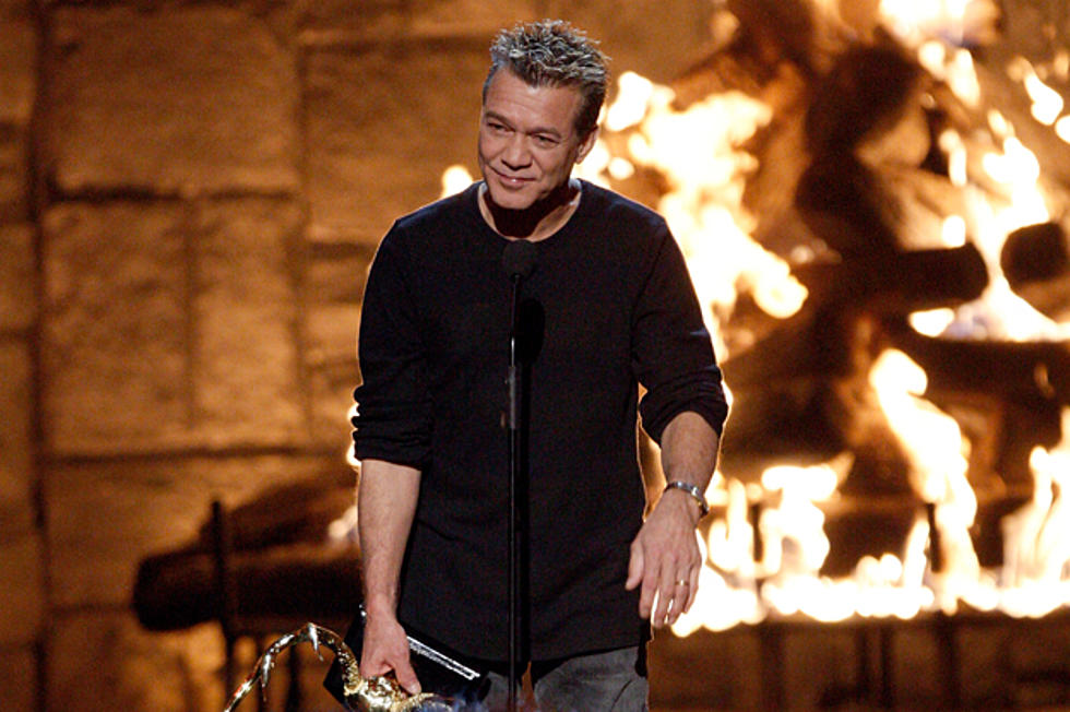 Eddie Van Halen A Little Nervous About Band S New Album
