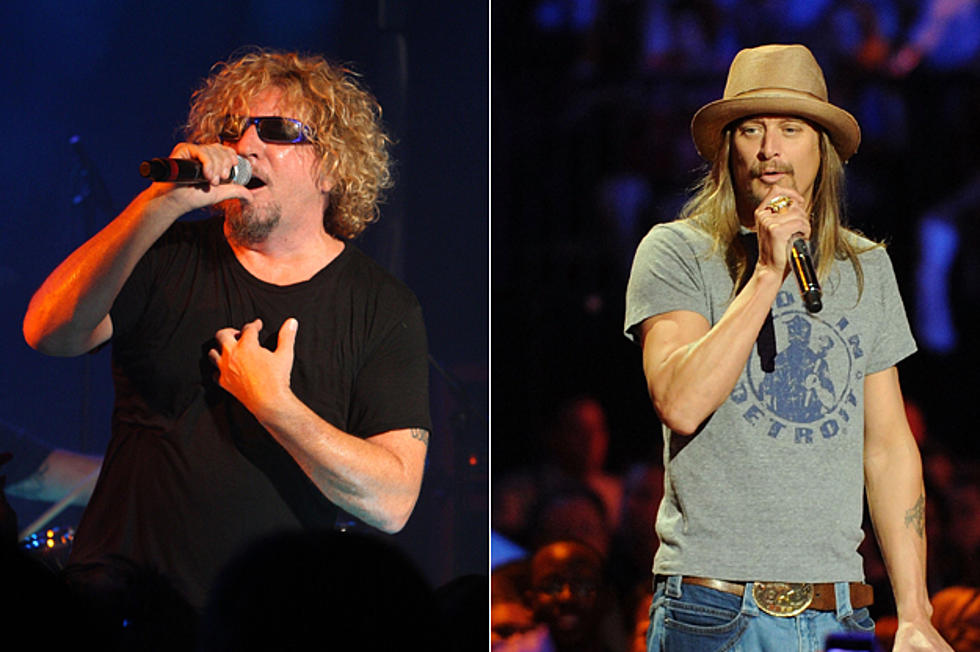Sammy Hagar and Kid Rock Perform 'We're An American Band' Live in