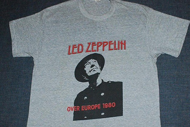 11b0993b8830 Top 10 Vintage Led Zeppelin T-Shirts