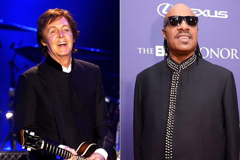 405aab9a8afe0 Paul McCartney Re-Teams With  Genius  Collaborator Stevie Wonder