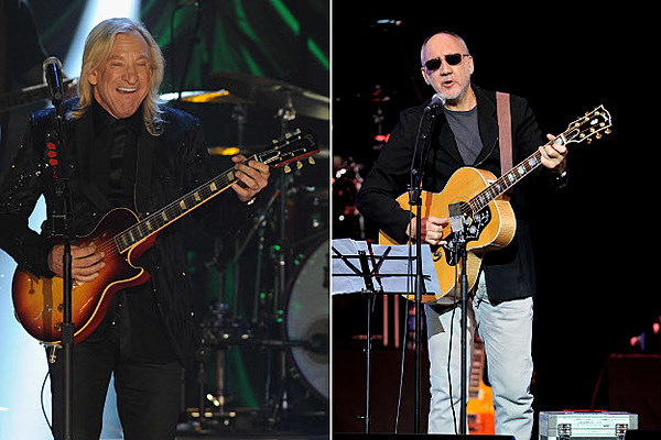 joe walsh remembers helping pete townshend find his famous guitar tone. Black Bedroom Furniture Sets. Home Design Ideas