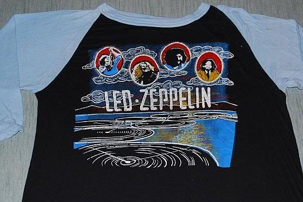 LED ZEPPELIN 1969 CONCERT PROMO ROCK T SHIRT  Retro Vintage MEN/'S /& WOMEN/'S TEE