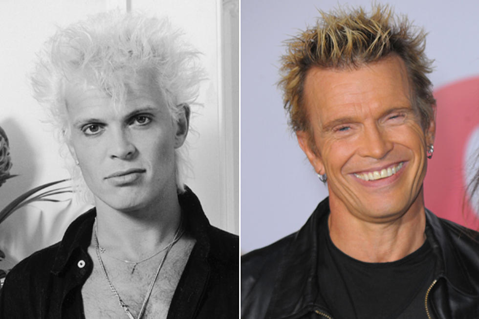 Billy Idol Then And Now