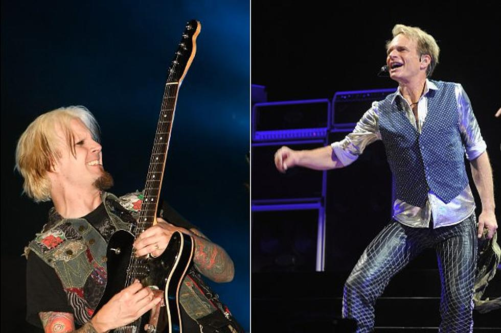 David Lee Roth Lays Down Tracks For Acoustic Album