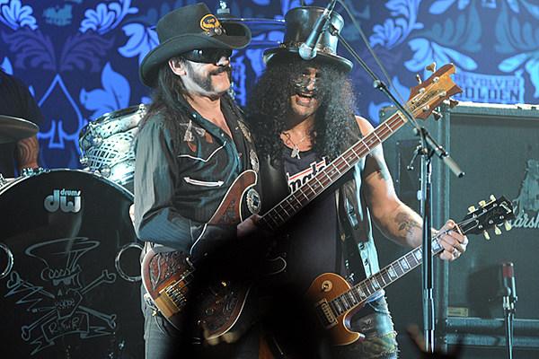 Lemmy From Motorhead Joins Slash On Stage In Boston