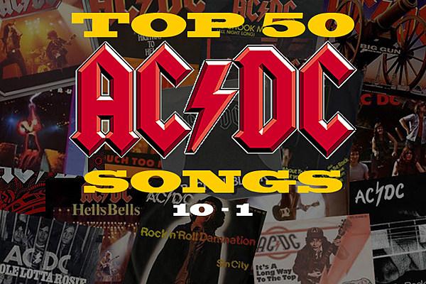 Top 50 AC/DC Songs: 10-1