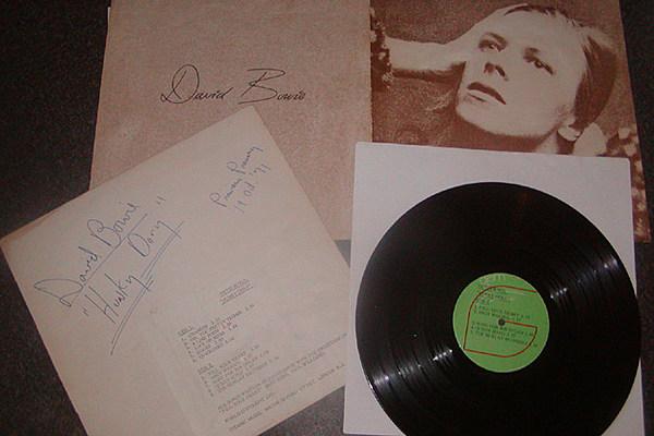 David Bowie S Hunky Dory Vinyl Nets Over 10k On Ebay