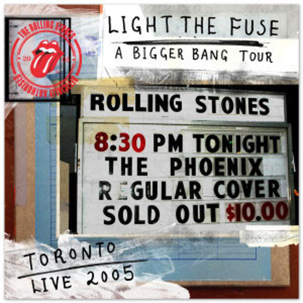 Rolling Stones Release Live Club Show Bootleg