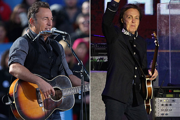 Bruce springsteen paul mccartney and the who on 12 12 12 - Paul mccartney madison square garden tickets ...