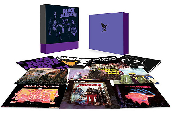Classic Black Sabbath Albums Collected In New The Vinyl