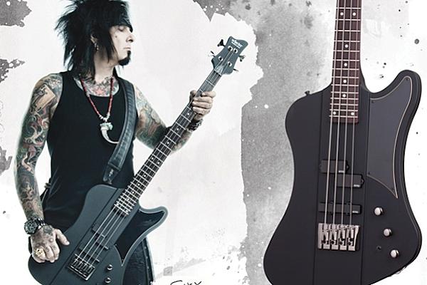 Win A Nikki Sixx Schecter Sixx Bass Guitar More