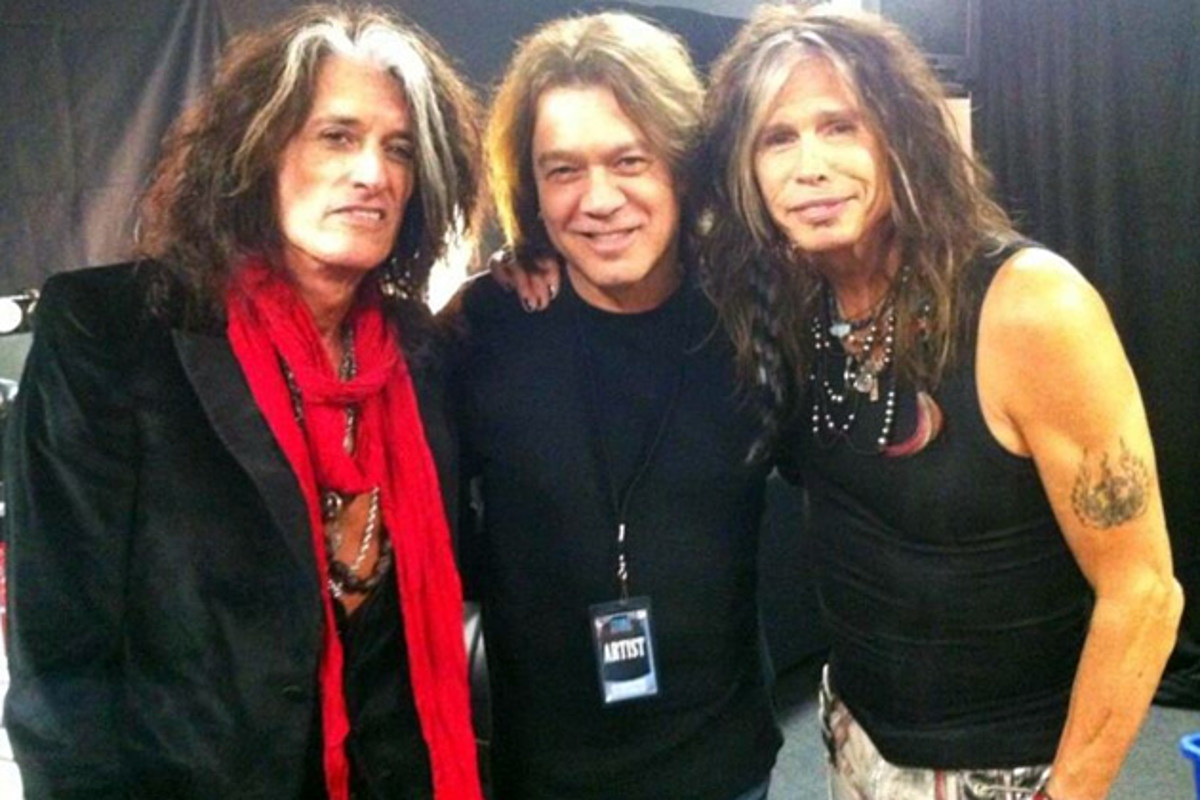 Eddie Van Halen Gets a Visit From the Toxic Twins - Pic of ...
