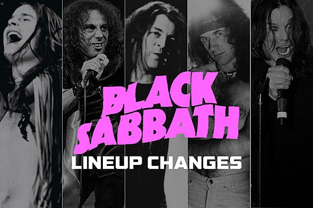 862953325980 Black Sabbath Lineup Changes  A Complete Guide