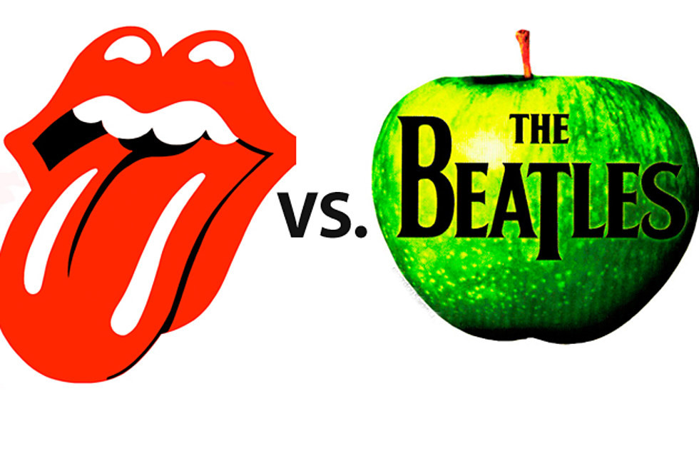 Image result for the beatles vs the rolling stones