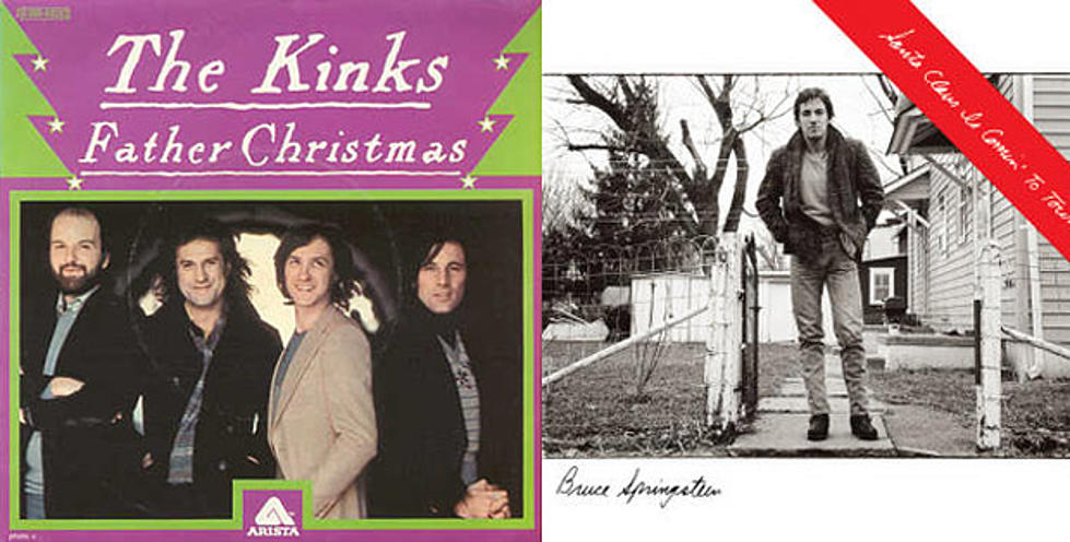 Father Christmas The Kinks.The Kinks Vs Bruce Springsteen Clash Of The Titans