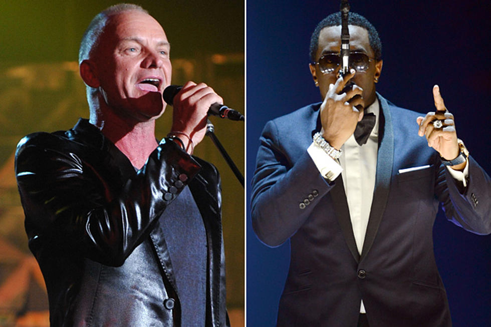 Sting Earns $2,000 a Day Because Puff Daddy Didn't Say