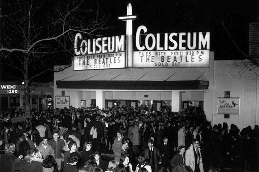 When The Beatles Played Their First U S Concert
