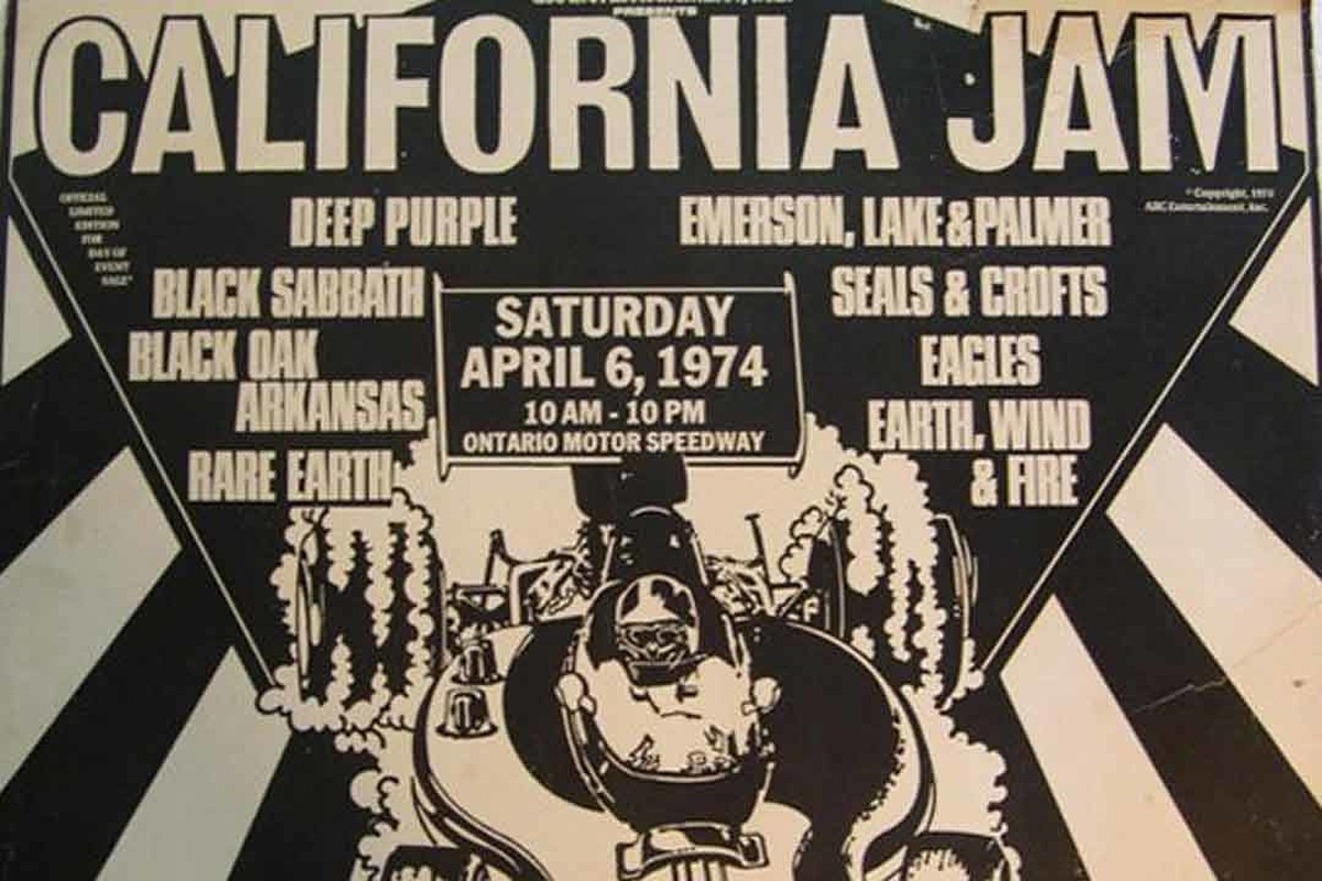 45 Years Ago: California Jam Becomes One of Rock's Best Festivals