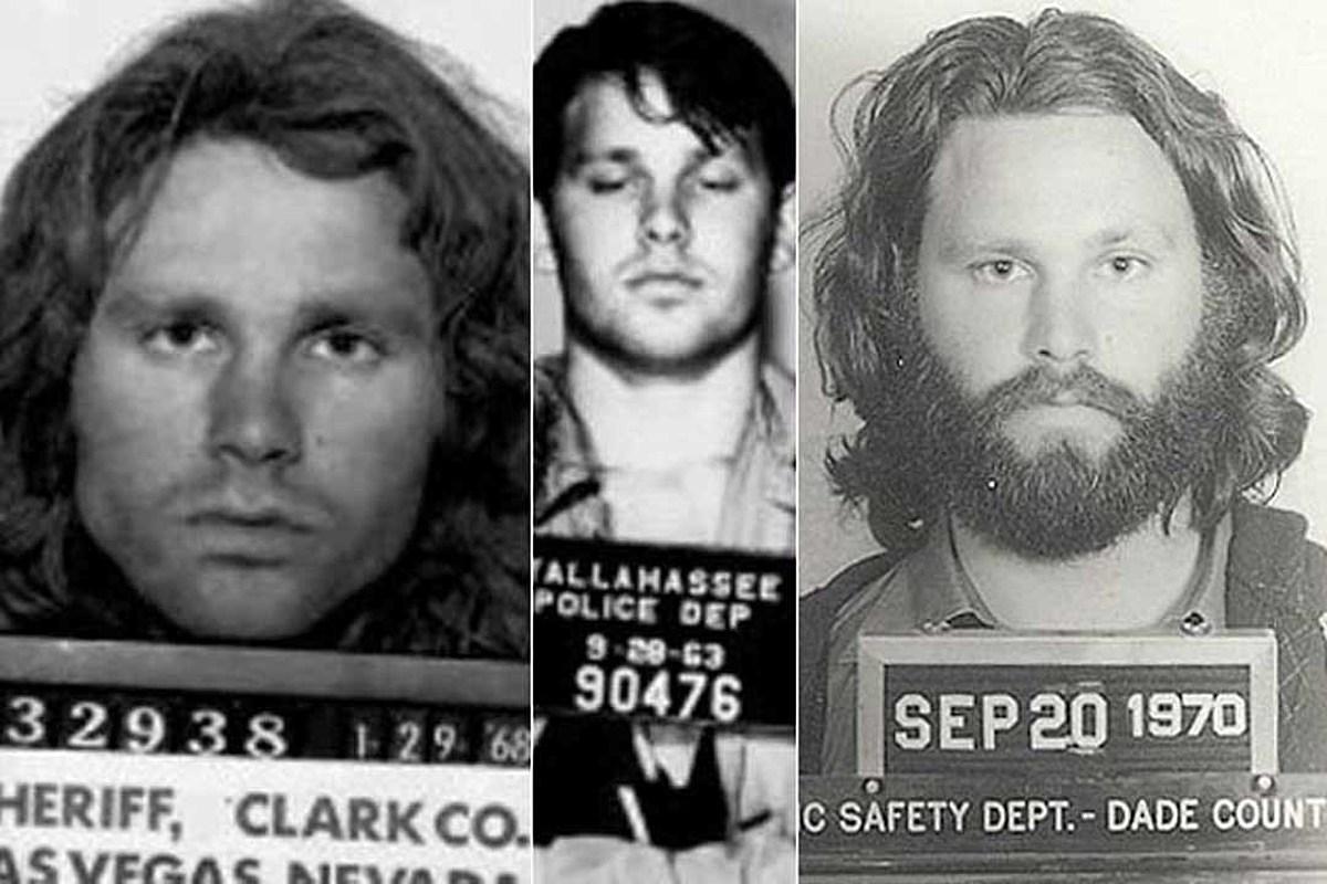 Jim Morrison's Arrest History