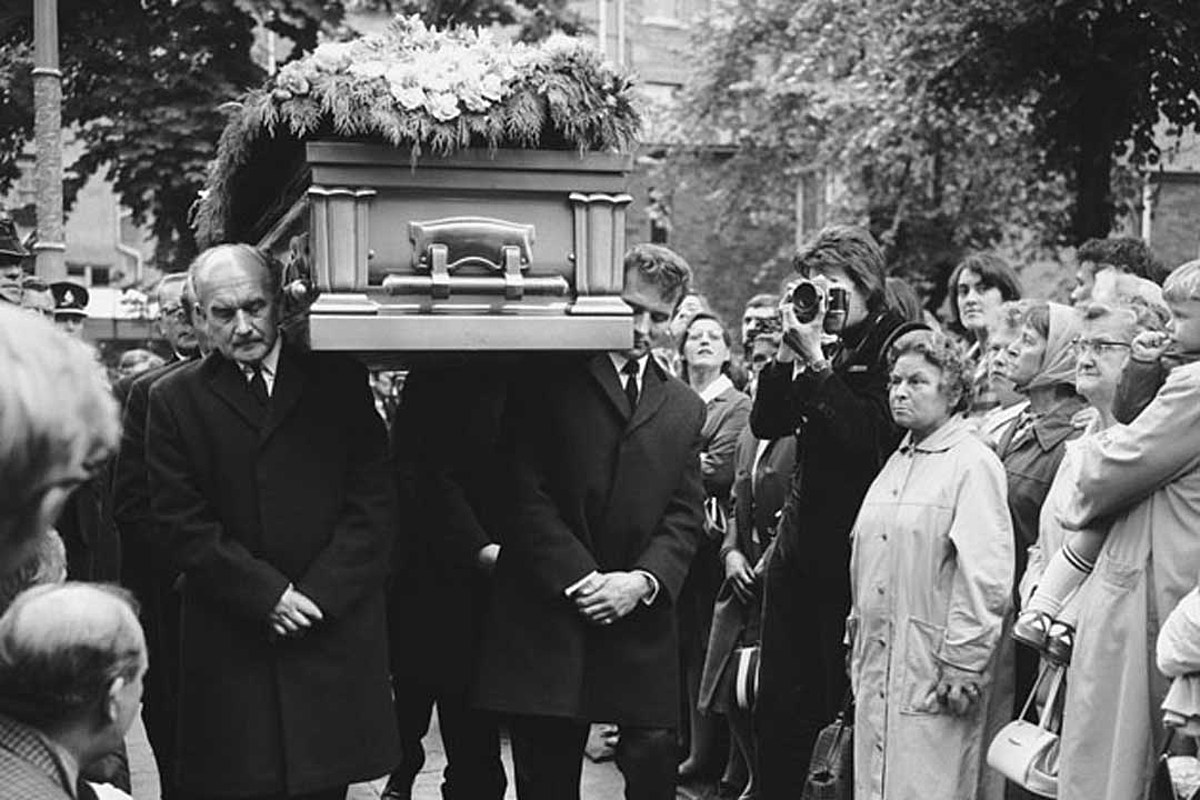 The Day Brian Jones Was Laid To Rest