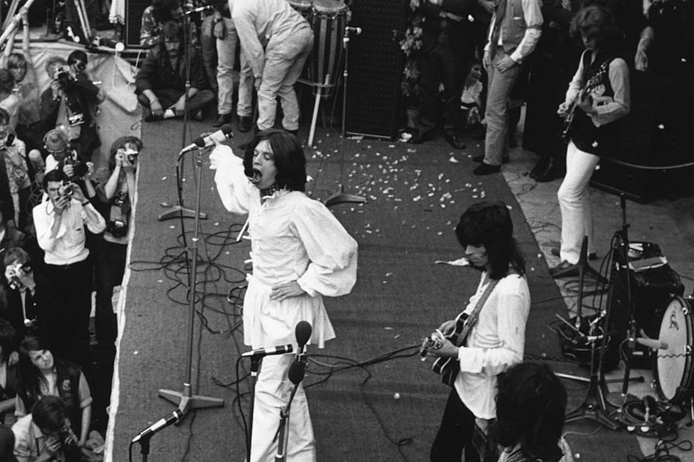 50 Years Ago Rolling Stones Play For 500 000 Fans At Hyde Park