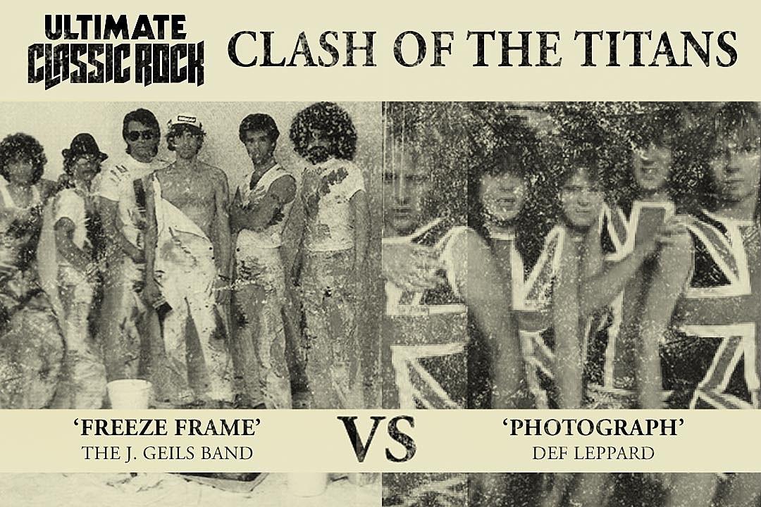 Freeze-Frame' vs  'Photograph' - Clash of the Titans