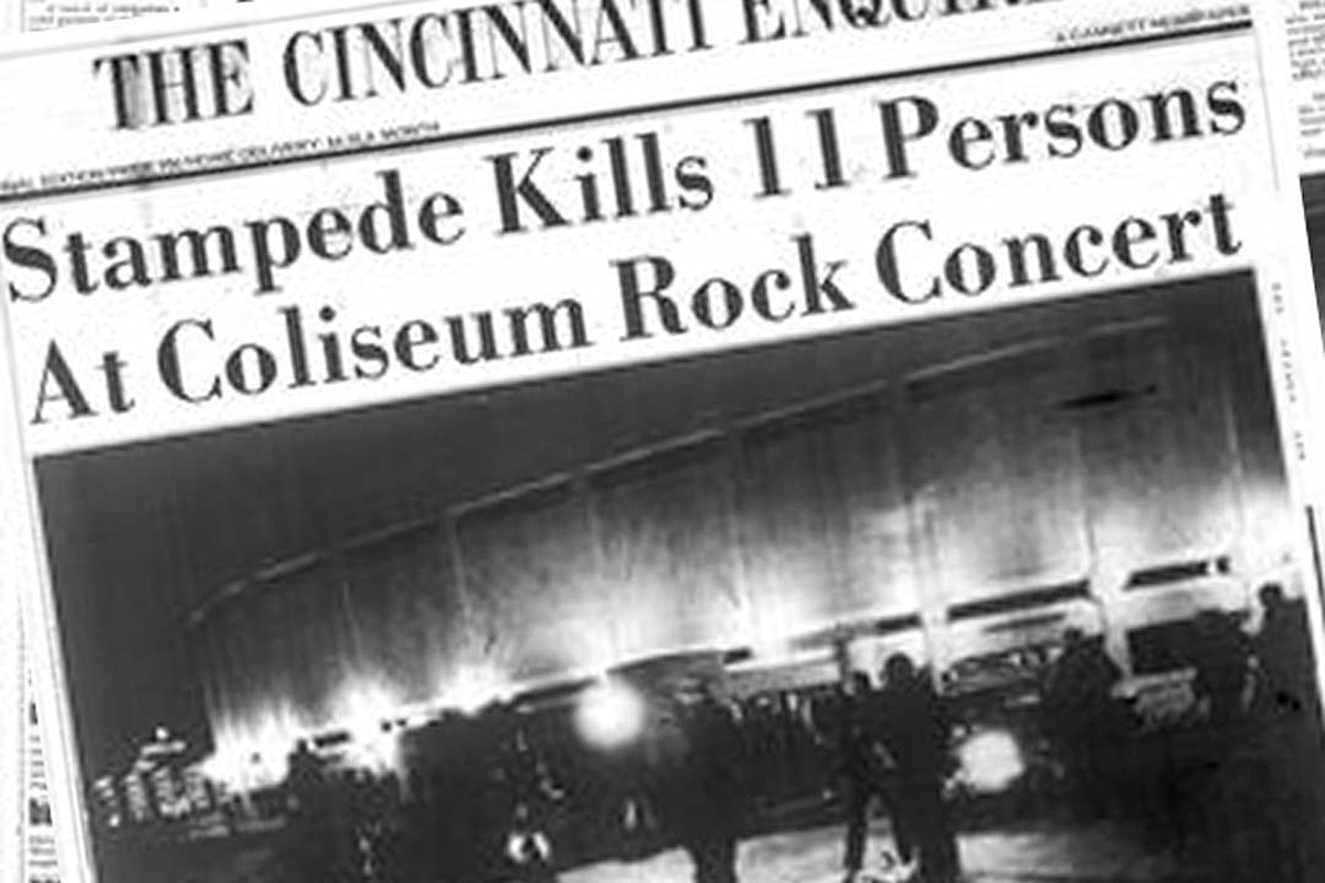 How a Cincinnati Concert by the Who Became a Tragedy