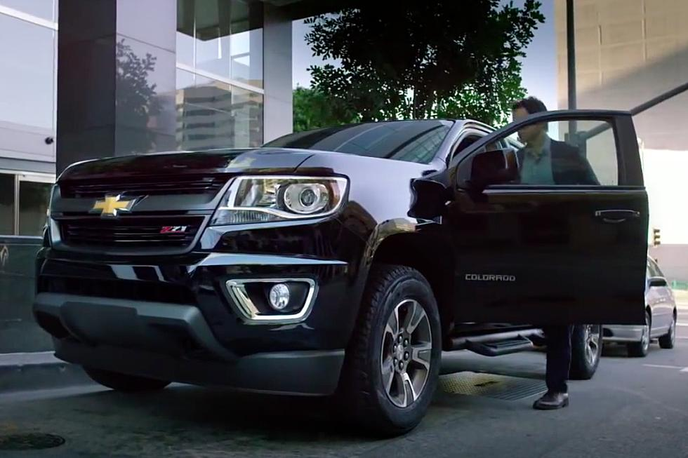 Ac Dc S Back In Black Revs Up Chevy Colorado Commercial
