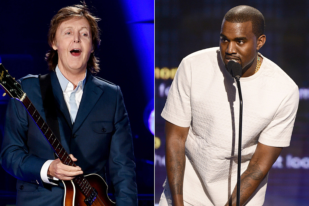 expect more music from paul mccartney and kanye west